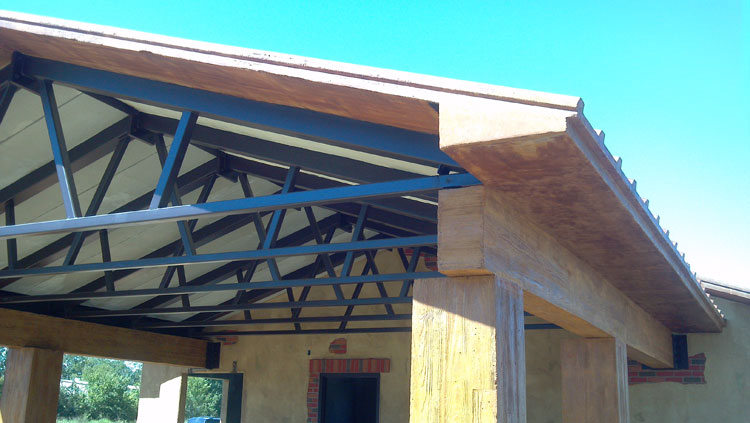 Box Truss Carport : Durakrete finished products